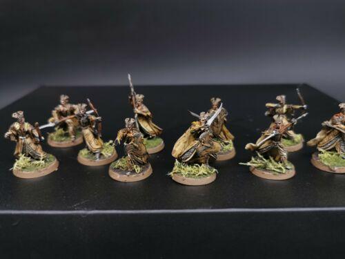 Gamesworkshop Hobbit LoTR Mirkwood Armoured Elves  Pro painted made to order