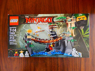 LEGO The Ninjago Movie 70608 Master Falls BUILT ONCE 100% COMPLETE, GUARANTEED