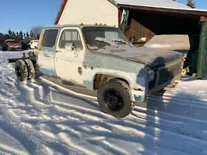 Crew cab square body
