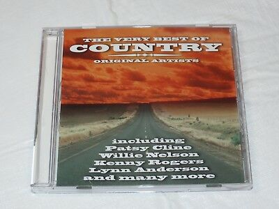 The Very Best of Country Original Artists CD 1999 Time Music