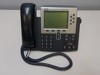 Cisco Systems Cp-7961g Ip Phone 7961 Series 7900 Voip Office Desk Phone