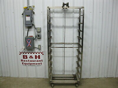 Baxter Stainless Steel 10 Slide Bakery Rack Oven Cart 18 X 26 Full Sheet Pans