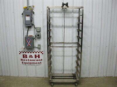 Baxter Stainless Steel 10 Slide Bakery Rack Oven Cart 18 X 26 Full Sheet Pans