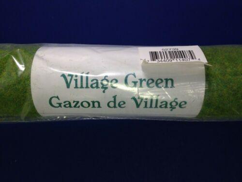 "Dept 56 Heritage VILLAGE GREEN Grass Turf Roll 24"" wide 52739 BRAND NEW!"
