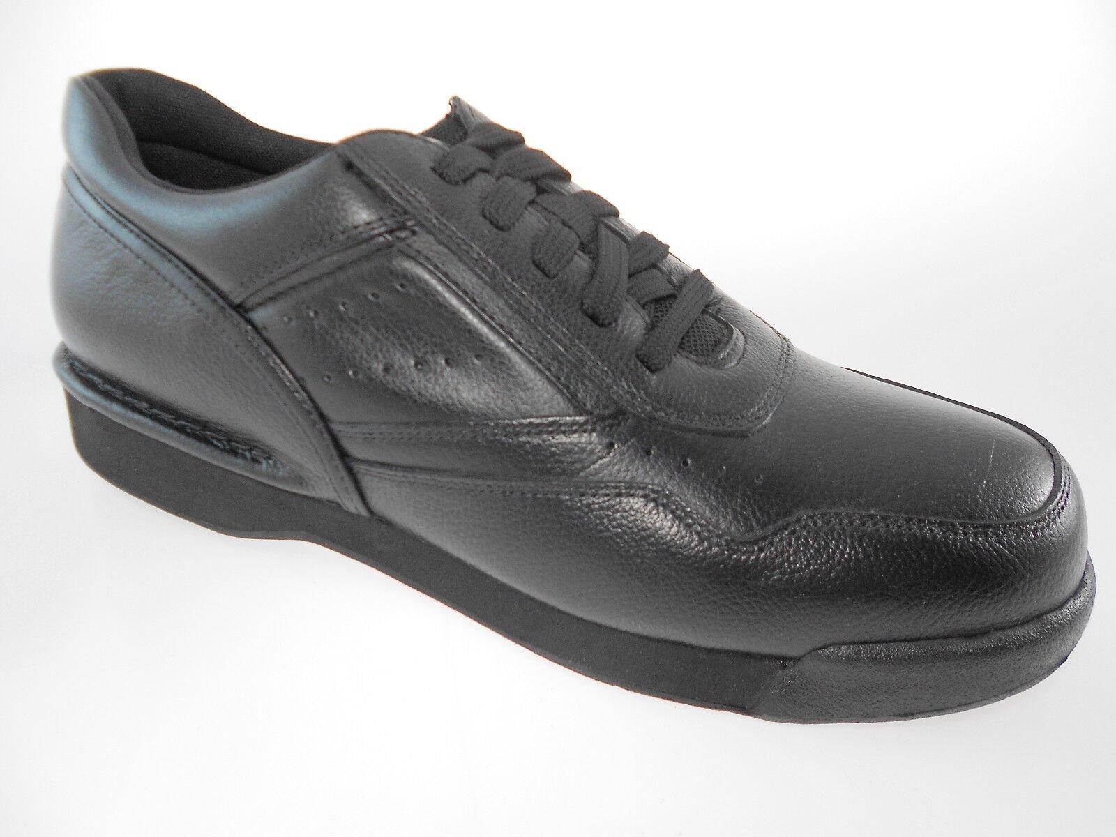 ROCKPORT PROWALKER K71096 CLASSIC MEN'S BLACK LEATHER WALKIN
