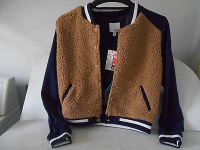 BONGO Juniors Lightweight Baseball Jacket - Size Medium - New with Tags