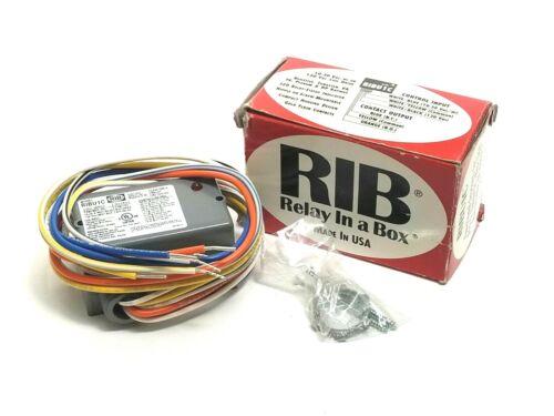 RIB RIBU1C Enclosed Relay Multi Voltage New In Box