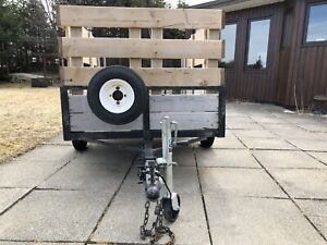 Universally Functional Utility Trailer