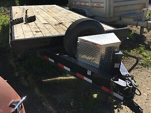 snake river flat deck trailer
