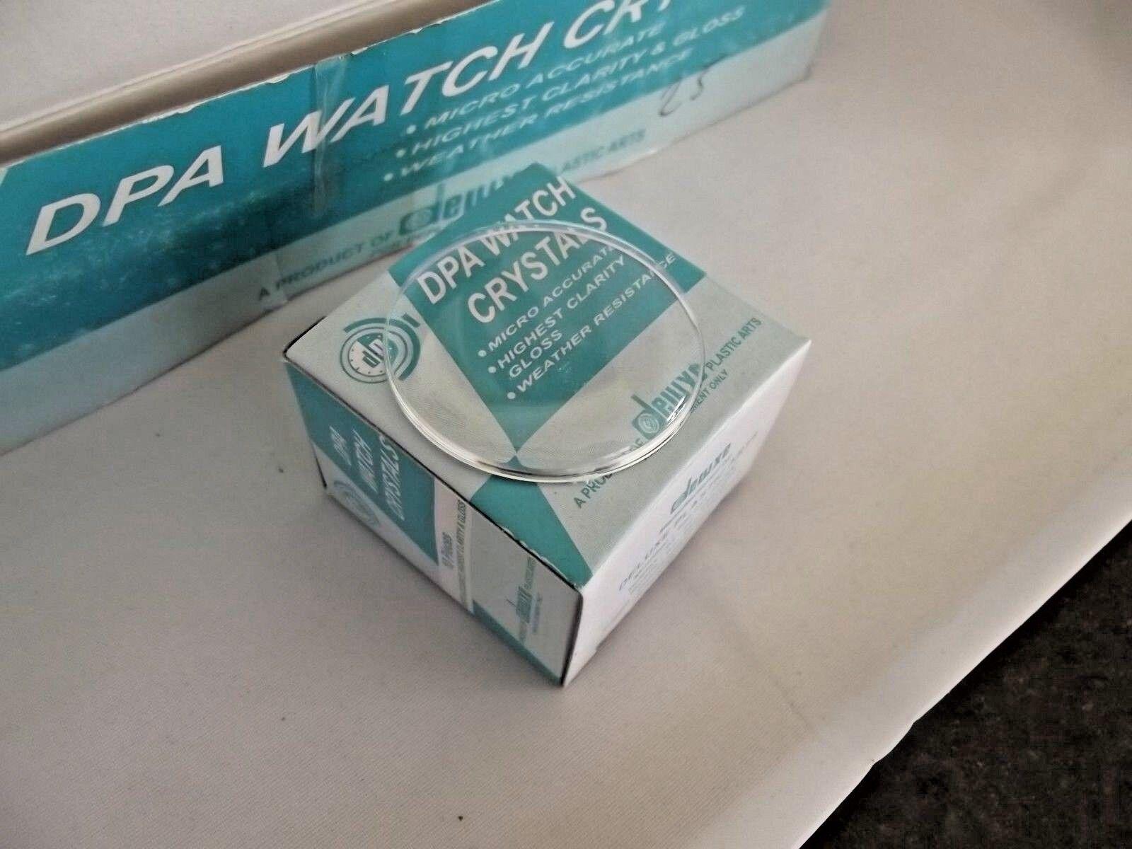 vetri plexi plastica da 35 a 40 mm orologi watch crystal dome orologiaio ricambi