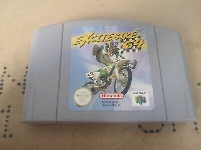 Excitebike n64 ¦ Nintendo 64 ¦ PAL version ¦ tested and working ¦ cart only