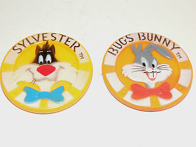 Bugs Bunny and Sylvester Rubber Teething Toy 1966 by Warner Bros Inc (5531) (Bugs Bunny Teeth)