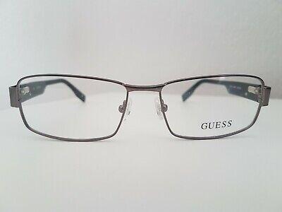 GUESS Brille NEU Herren Silbergrau, mit Kunststoffbügeln