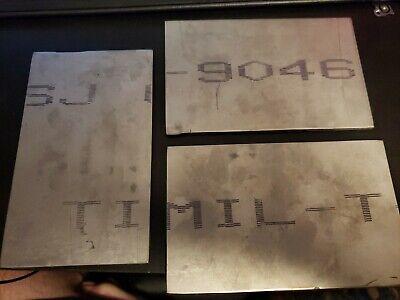 """.040 X 12 X 43/"""" Grade2 CP Titanium Sheet Mil-T-9046"""