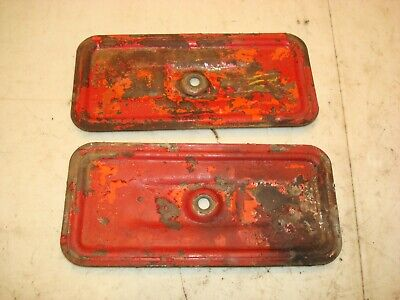 1952 Ford 8n Tractor Side Engine Inspection Plates Covers 9n 2n