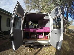 2004 FORD TRANSIT 2.5 TURBO DIESEL ECO-FRIENDLY CAMPERVAN Moree Moree Plains Preview