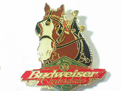 Budweiser Clydesdale Beer Pin **
