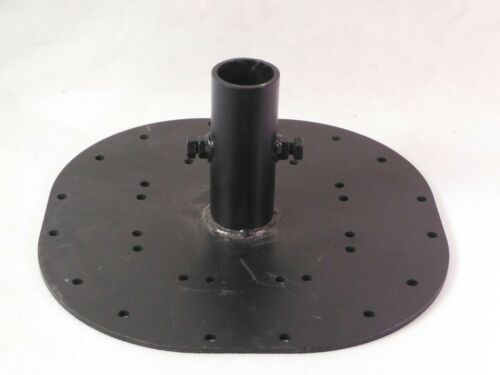 15 LBS HEAVY BOOM BASE WEIGHTED PLATE - FOR PIPE INSERT