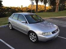 2002 Audi A3 1.8L Turbo Hatchback Coogee Eastern Suburbs Preview