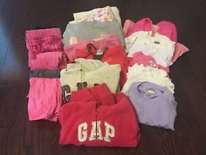 Lot girl fall clothing size 4-5 over 20 pieces