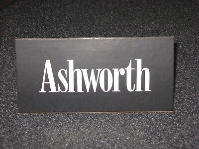 "Vintage 1990's 6"" x 3"" Ashworth Collectible RETAIL STORE DISPLAY Sign RARE"