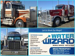 Water Wizard Mobile Pressure Washing Business For Sale