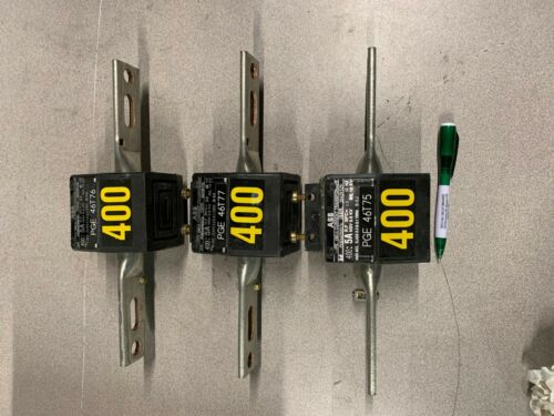 PGEM250076 ABB 400:5 Current Transformer (lot of 3)