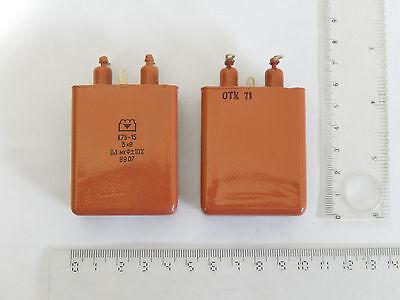 K75-15 Paper Pio Capacitor 0.1uf 3kv 10 2pcs