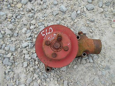 Farmall Ih 560 Tractor Engine Motor Water Pump Assembly -- Belt Pulley For Fan