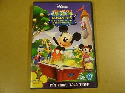 DVD / MICKEY MOUSE CLUBHOUSE - MICKEY'S STORYBOOK SURPRISES ( DISNEY )