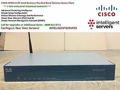 CISCO AP541N-E-K9 Small Business Pro Dual Band Wireless Access Point