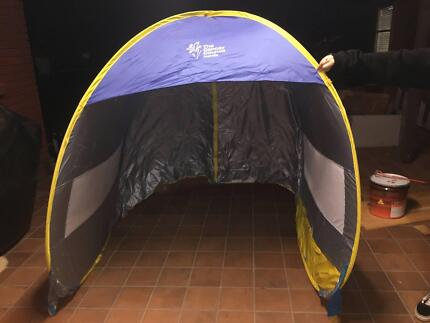 Cancer Council Pop-Up Beach Tent & Canvas Tent | Camping u0026 Hiking | Gumtree Australia Shellharbour ...