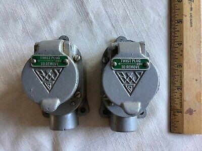 Lot Of 2. 3-prong Junction Electrical Box