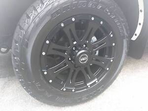 """CSA Raptor 18"""" Wheels with A/T Tyres - 4x4 Cameron Park Lake Macquarie Area Preview"""