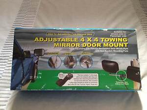 4 X 4 Adjustable Towing Mirror Sorrento Joondalup Area Preview