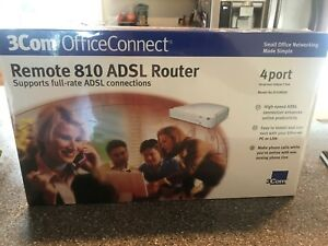 3com OfficeConnect Remote 810 ADSL Router