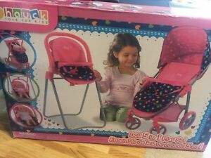 Doll 5 in 1 play set brand new