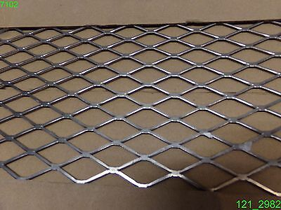 Lot Of 2 Sheets National Expanded Steel 24 X 12 13 Gauge 34 Grid N215-798