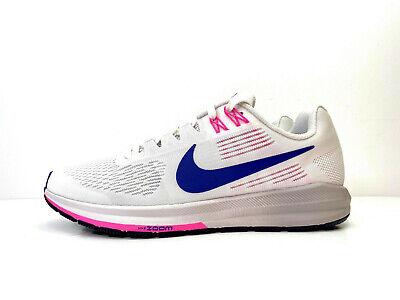 Nike Air Zoom Structure 21 Womens Running White UK 5.5 EUR 39 US 8 904701 101