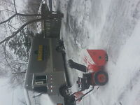 snow blowing & weekly lawn care