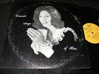 Strange Cover - Private CHRISTIAN LP Strange Cover CONNIE SINGS OF HIM Connie Tice OJAI Two Dot