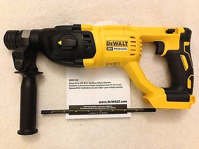 "New Dewalt DCH133B 20 Volt 20V Max XR Brushless 1"" SDS Plus Rotary Hammer"
