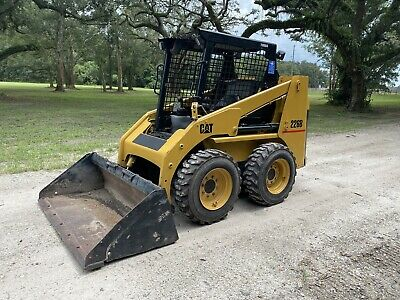 Cat 226b Skid Steer Loader - Pre Emissions - Good Tires - Joystick Controls