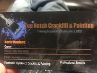 For all your Crackfill and Painting needs