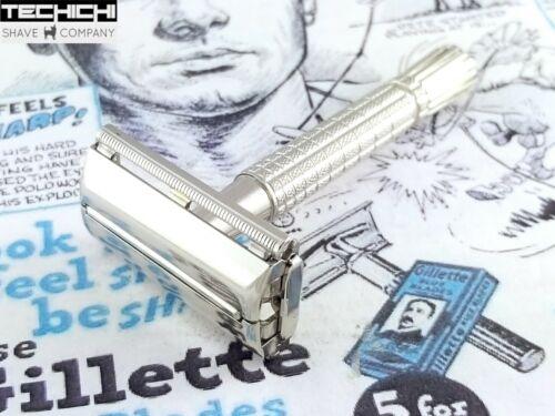1966 L1 Gillette Flare Tip Super Speed Vintage Safety Razor