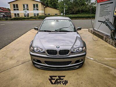 BMW 3 SERIES E46 M PAKET M SPORT FRONT LIP SPOILER SPLITER...