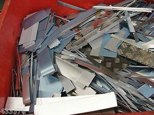 Aluminium Sheet Offcuts 1.8 Kg's - Scrap  Landrover, Melting Crucible TIG MIG