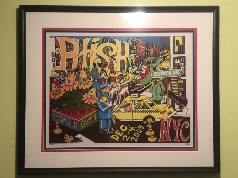 Phish 2009 Jim Pollock Madison Square Garden LE Print
