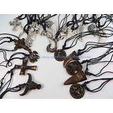20 pieces wholesale necklace lot hippie pendant necklaces wholesale jewelry lot
