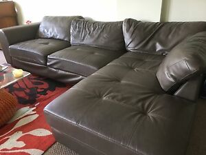 Sofa Lounge with Chaise Westmead Parramatta Area Preview